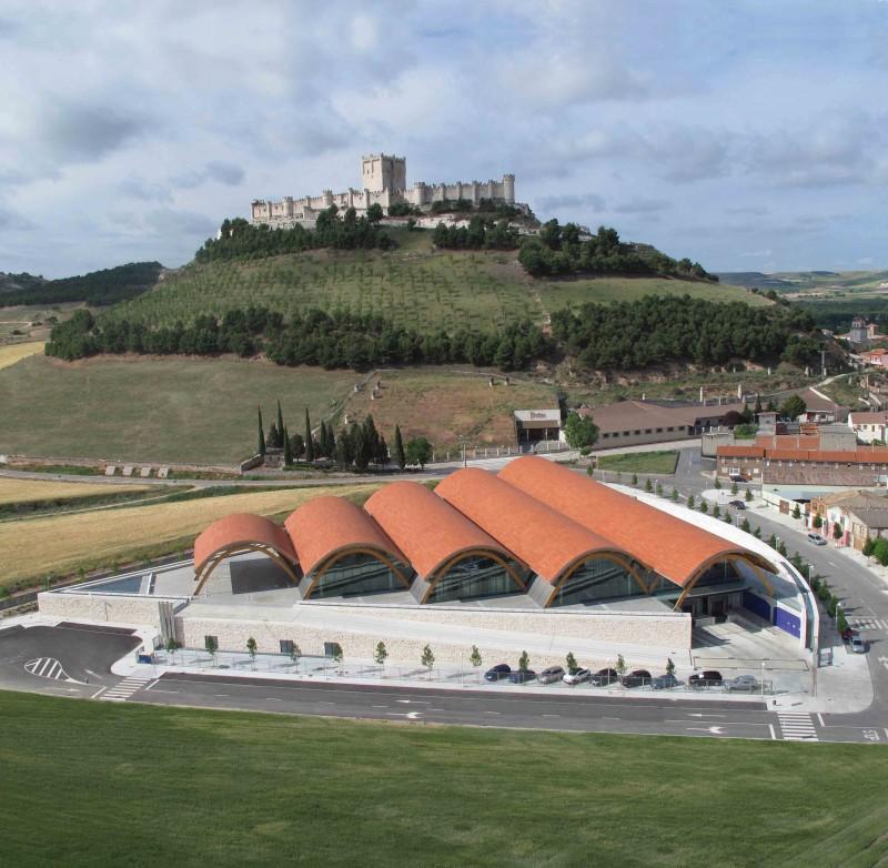Protos the most visited ribera del duero winery in 2012 - Arquitectos en valladolid ...