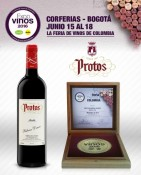 PROTOS ROBLE 2014, GOLD MEDAL IN EXPOVINOS COLOMBIA