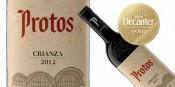 PROTOS CRIANZA 2012, GOLD MEDAL IN DECANTER ASIA WINE AWARDS 2016