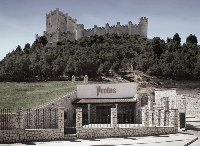 Bodegas Protos y Castillo de Peñafiel