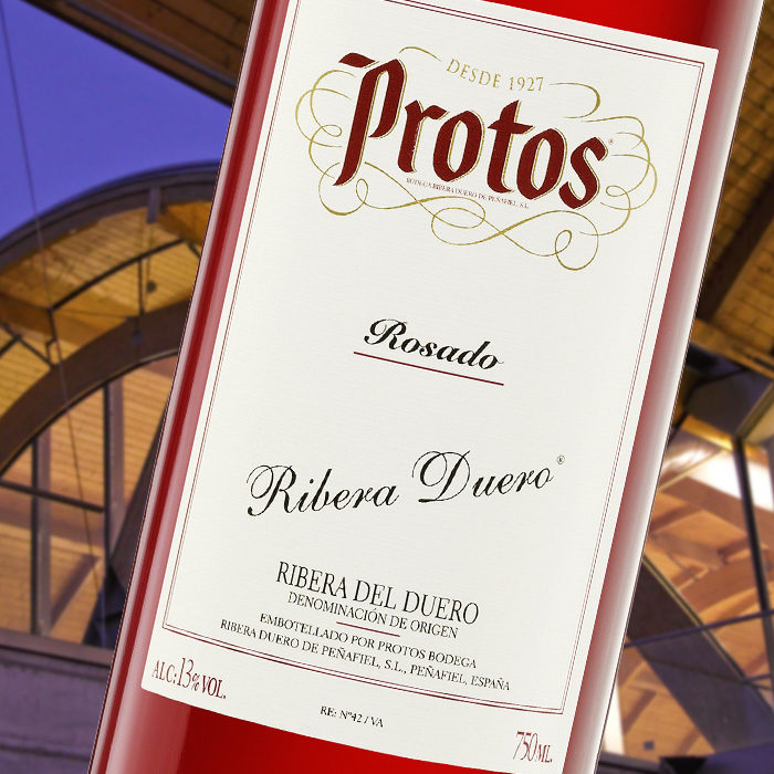 Botella de Protos Rosado
