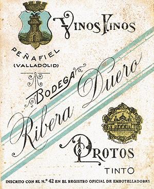 Protos 1927 Label
