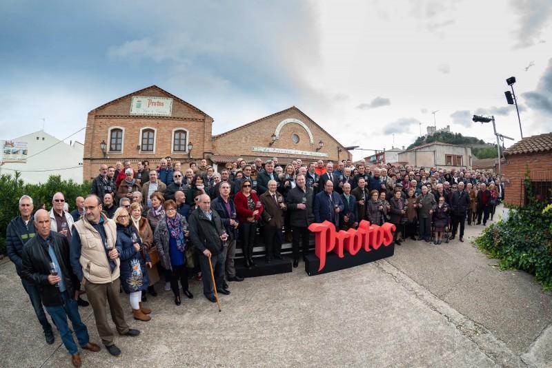 """Más de 250 viticultores despiden con Protos a """"La Primera en la Ribera"""""""