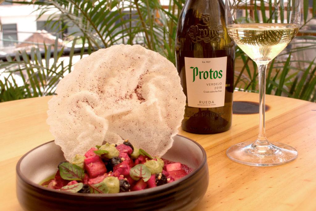 Food pairing Poquiche Protos Verdejo