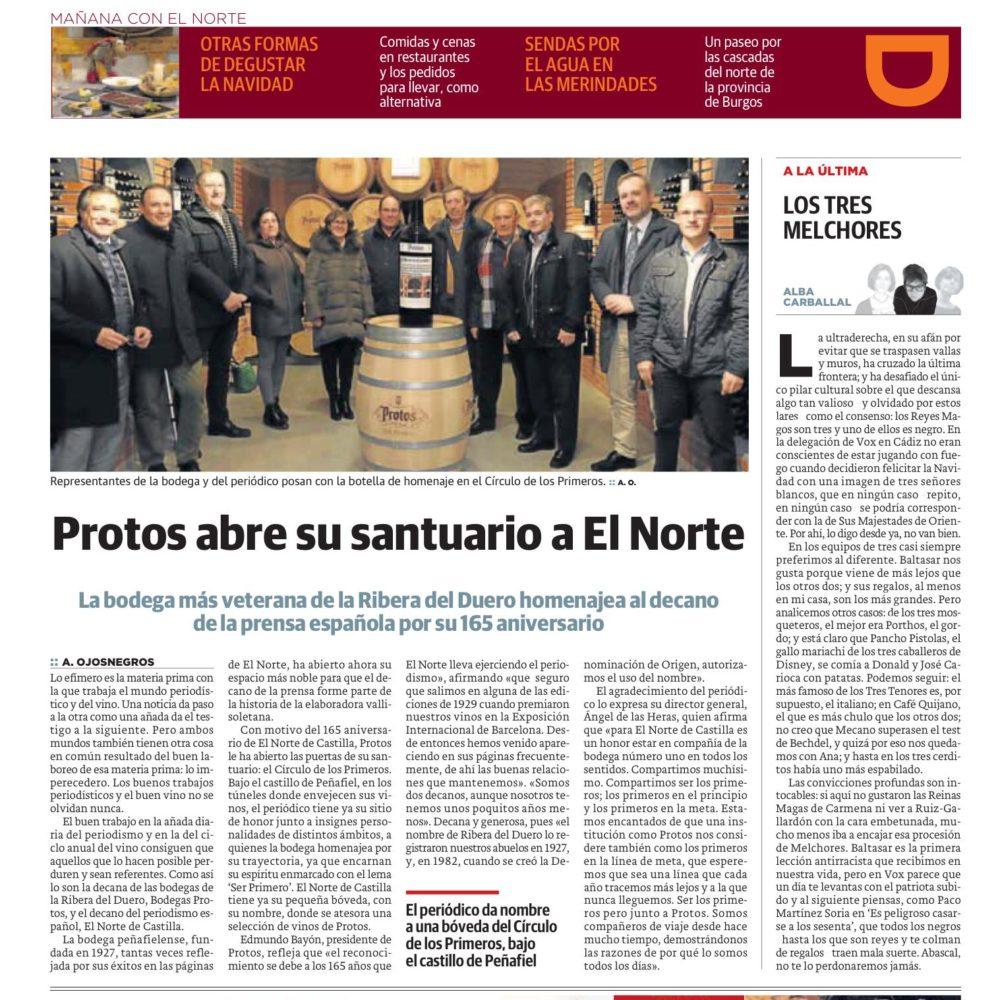 El Norte de Castilla en Protos