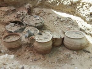 Primeros indicios del consumo de vino en Ribera del duero