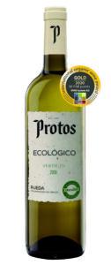 medalla de oro Protos Verdejo ecológico en Bioweinpreis