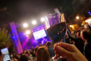 Gran fiesta de la vendimia en Ribera