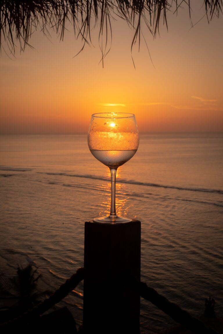 Playa y vino