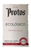 Etiqueta Protos Tempranillo Ecológico