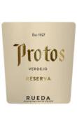 Etiqueta Protos Verdejo Reserva