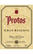 Etiqueta Protos Gran Reserva