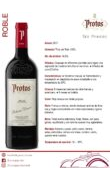 Ficha de cata Protos Roble